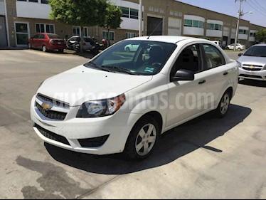 Chevrolet Aveo 4p LS L4/1.6 Aut usado (2018) color Blanco precio $93,000