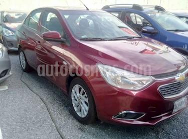 Chevrolet Aveo LTZ usado (2018) color Rojo precio $210,000