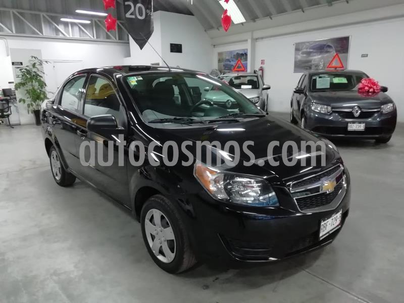 Chevrolet Aveo LS usado (2018) color Negro precio $155,000