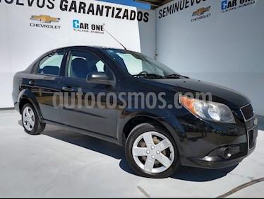 Chevrolet Aveo LS Aa usado (2016) color Negro precio $110,000