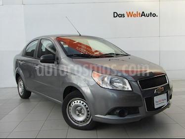 Chevrolet Aveo Paq B usado (2012) color Gris Tormenta precio $89,000
