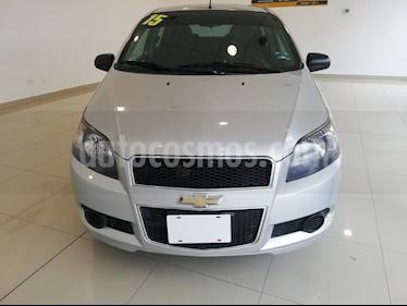 Foto Chevrolet Aveo LS usado (2015) color Plata Brillante precio $115,000