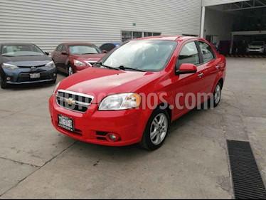 Chevrolet Aveo Paq F usado (2010) color Rojo precio $87,000