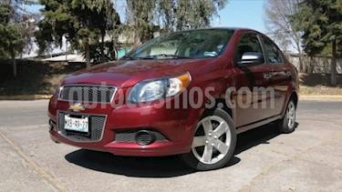 Chevrolet Aveo 4P LT AT A/AC. VE CD BLUETOOTH R-15 usado (2016) color Rojo precio $135,000