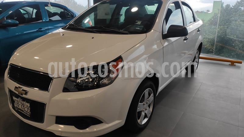 Chevrolet Aveo LS usado (2014) color Blanco precio $99,000