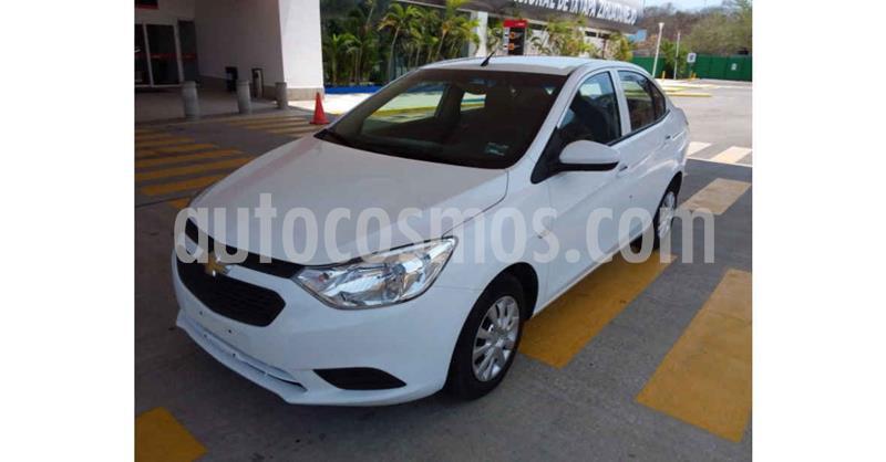 Chevrolet Aveo Paq B usado (2020) color Blanco precio $179,900