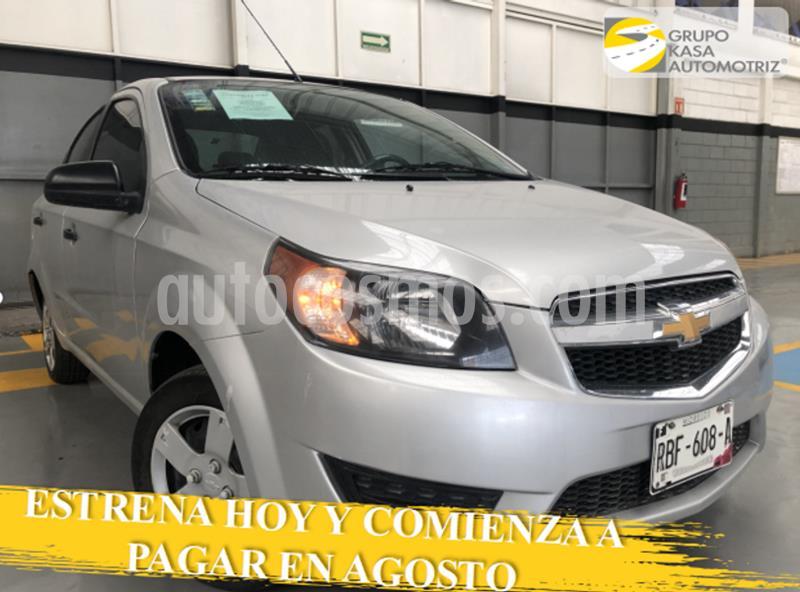 Chevrolet Aveo LS Aa Radio y Bolsas de Aire (Nuevo) usado (2018) color Plata Brillante precio $140,000