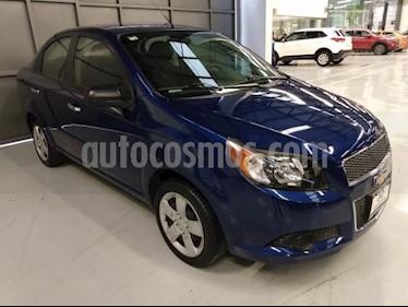 Chevrolet Aveo 4P LS TA A/AC. CD R-14 usado (2013) color Azul Marino precio $110,000