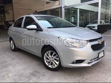 Chevrolet Aveo 4p LTZ L4/1.5 Aut usado (2019) color Plata precio $189,000