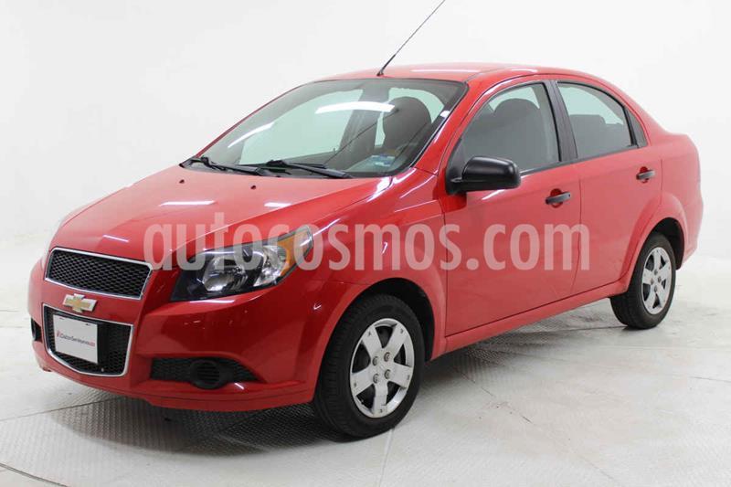 Chevrolet Aveo LS Aa usado (2017) color Rojo precio $129,000