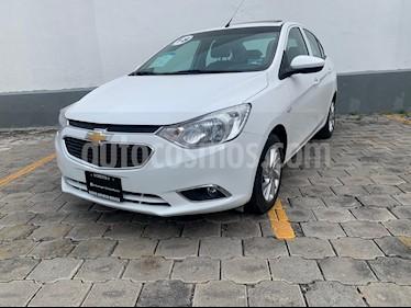Chevrolet Aveo LTZ Bolsas de Aire y ABS Aut (Nuevo) usado (2018) color Blanco precio $189,900