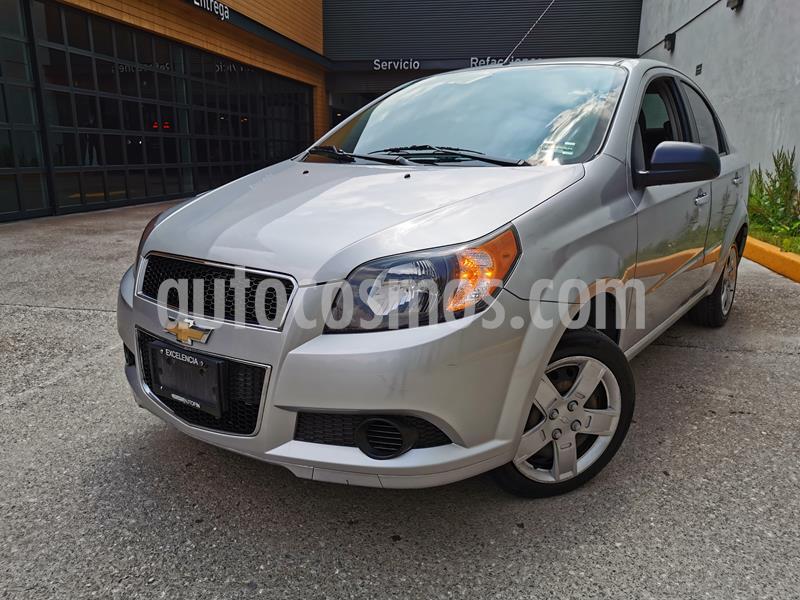 Chevrolet Aveo LS usado (2016) color Plata Brillante precio $120,000