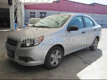 Chevrolet Aveo 4p LS L4/1.6 Aut usado (2016) color Plata precio $47,000
