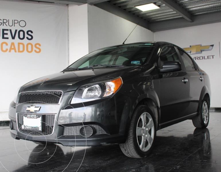 Chevrolet Aveo LS Aa usado (2017) color Gris precio $145,000
