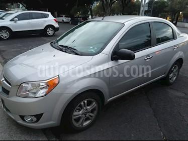 Chevrolet Aveo LTZ usado (2017) color Plata precio $165,000