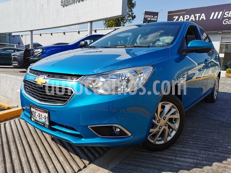Foto Chevrolet Aveo LTZ (Nuevo) usado (2018) color Azul Acero precio $195,000