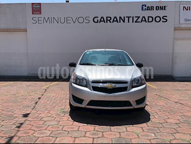 Chevrolet Aveo LS usado (2017) color Gris precio $112,200