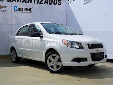 Chevrolet Aveo Paq C usado (2016) color Blanco precio $130,000