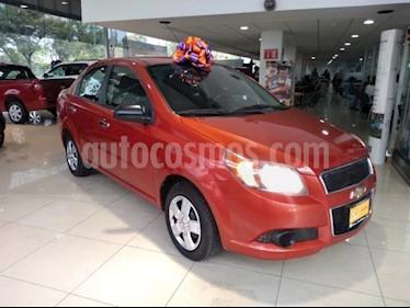 Chevrolet Aveo 4P LT L4/1.6 AUT usado (2016) color Naranja precio $135,000
