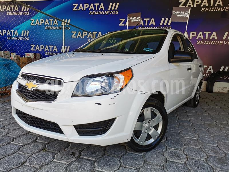 Chevrolet Aveo LS usado (2017) color Blanco precio $140,000