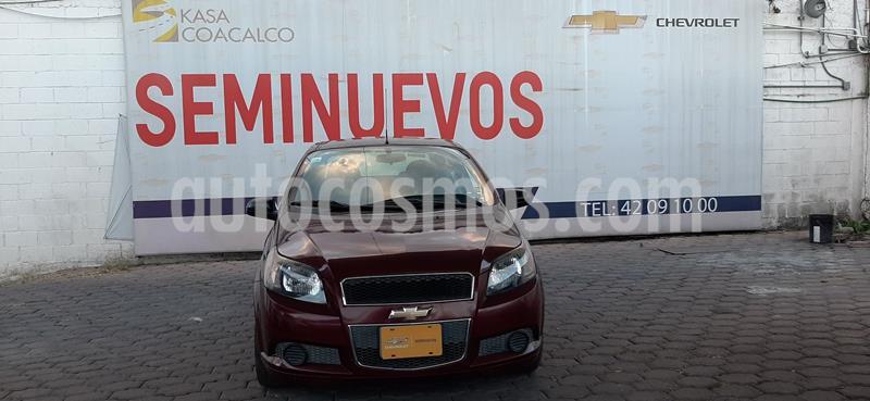 Chevrolet Aveo LT (Nuevo) usado (2015) color Rojo precio $123,000