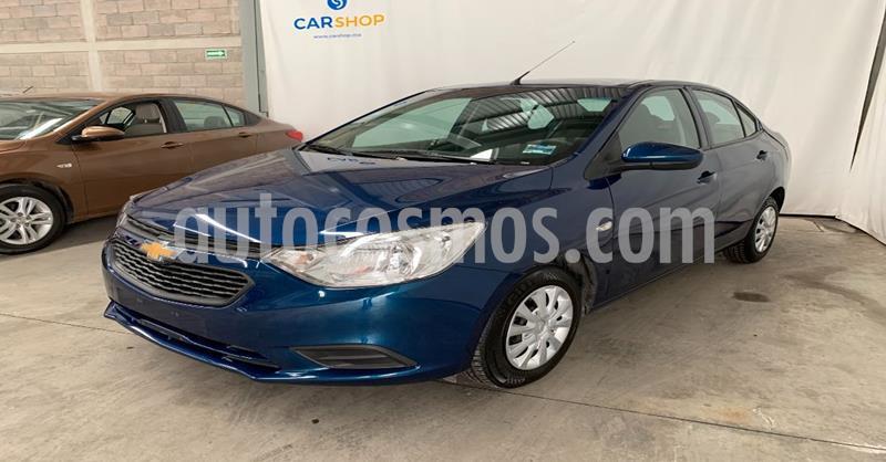 Chevrolet Aveo LS Aa usado (2020) color Azul precio $189,900