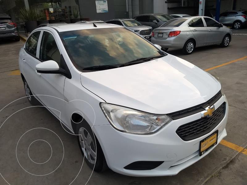 Foto Chevrolet Aveo LS Aa usado (2018) color Blanco precio $160,000