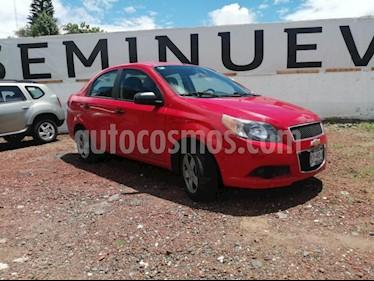 Chevrolet Aveo LS usado (2015) color Rojo precio $105,000