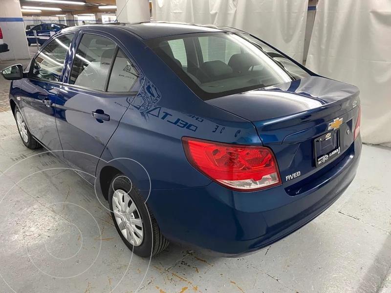 Foto Chevrolet Aveo LT Aut usado (2020) color Azul precio $199,000