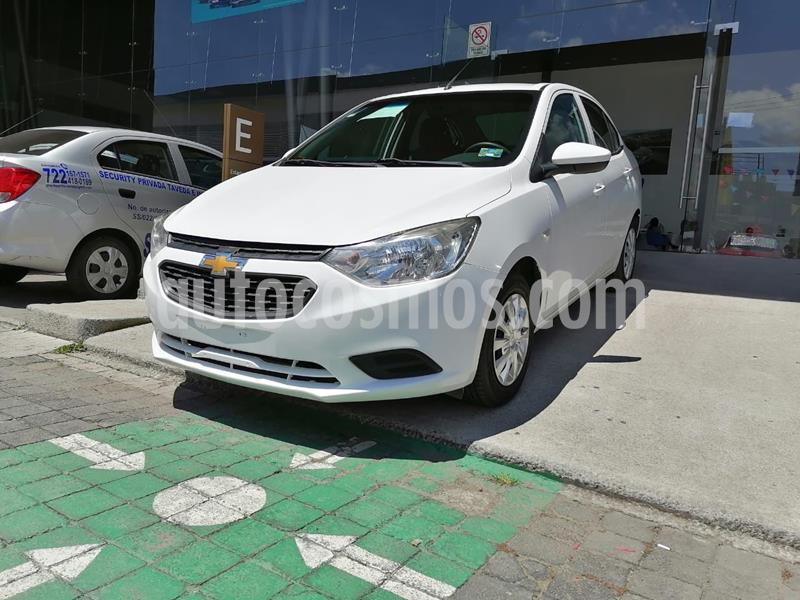 Chevrolet Aveo LS usado (2018) color Blanco precio $158,000
