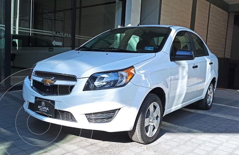 Foto Chevrolet Aveo LS usado (2018) color Blanco precio $146,000