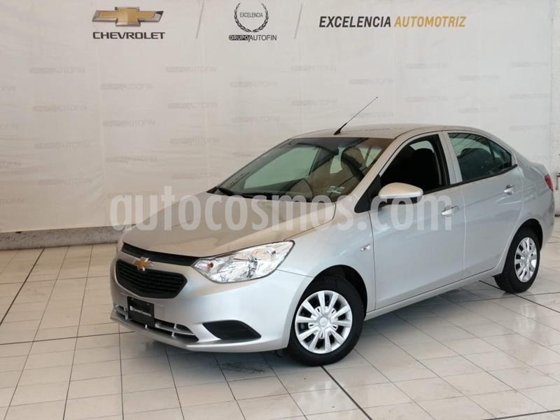 Chevrolet Aveo LS Aut (Nuevo) usado (2020) color Plata Brillante precio $190,000