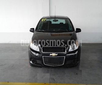Chevrolet Aveo LS usado (2017) color Negro precio $137,000