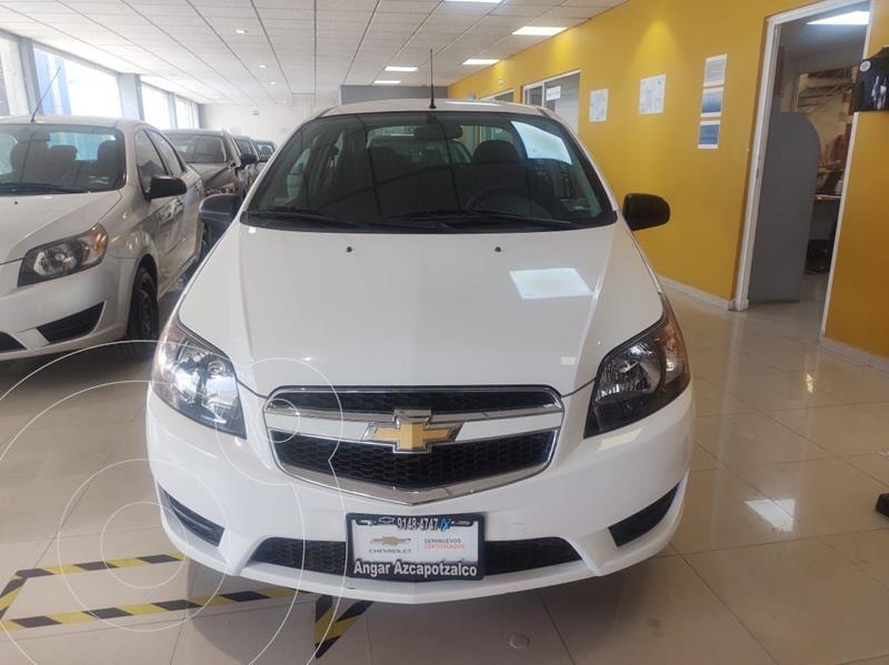 Foto Chevrolet Aveo LS usado (2018) color Blanco precio $146,900