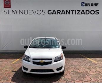 Chevrolet Aveo LS Aut usado (2017) color Blanco precio $112,200