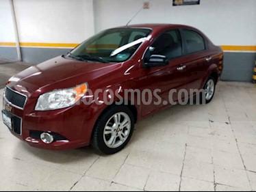 Foto Chevrolet Aveo LTZ usado (2014) color Vino Tinto precio $125,000