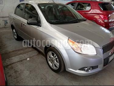 Chevrolet Aveo LTZ usado (2015) color Plata Brillante precio $121,900
