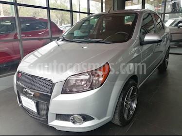 Chevrolet Aveo LTZ usado (2014) color Plata Brillante precio $114,000