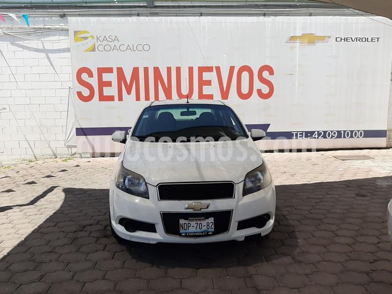 Chevrolet Aveo LS usado (2012) color Blanco precio $85,000