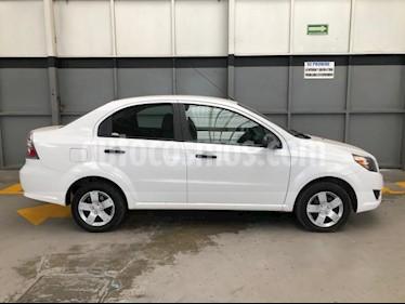 Chevrolet Aveo 4P LS AT A/AC. R-14 usado (2017) color Blanco precio $140,000