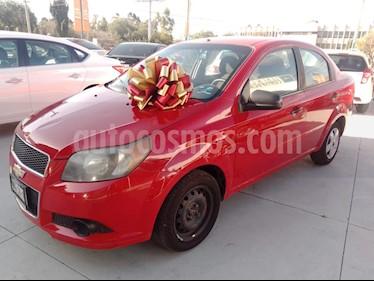 Chevrolet Aveo LS usado (2013) color Rojo precio $107,000