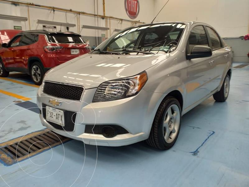 Foto Chevrolet Aveo LT Aut usado (2016) color Plata Dorado precio $125,000