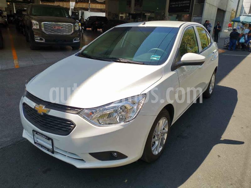 Foto Chevrolet Aveo Paq C usado (2020) color Blanco precio $207,000