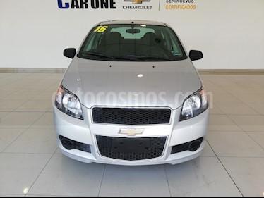 Foto Chevrolet Aveo Paq M usado (2016) color Plata precio $135,000