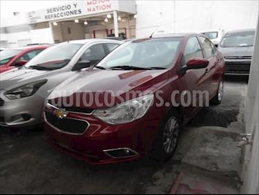 Chevrolet Aveo LTZ Aut (Nuevo) usado (2018) color Rojo precio $185,000