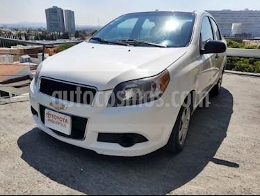 Chevrolet Aveo 4p LS L4/1.6 Man usado (2014) color Blanco precio $98,000