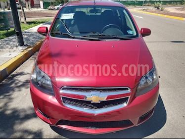 Chevrolet Aveo LS Aa Radio y Bolsas de Aire Aut (Nuevo) usado (2018) color Rojo Victoria precio $136,000