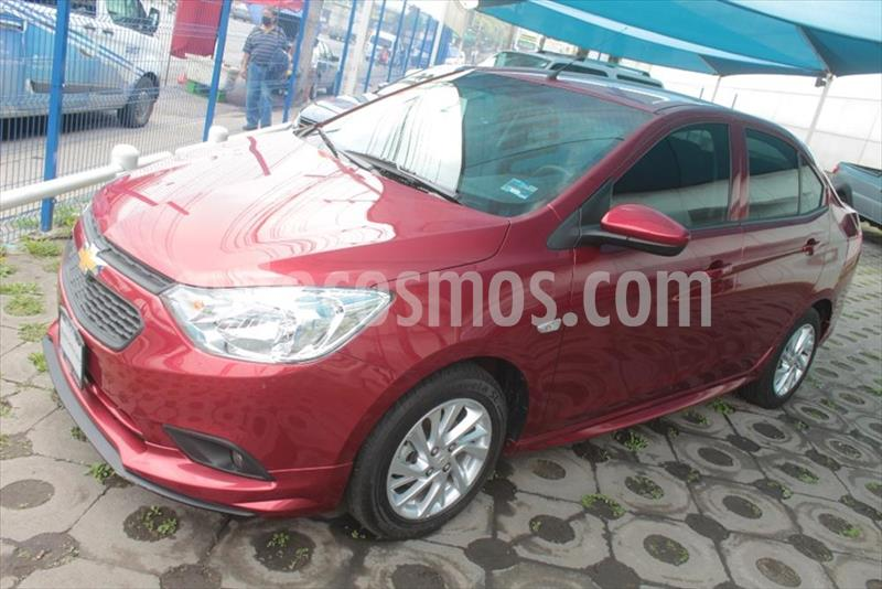 Chevrolet Aveo LT MANUAL usado (2020) color Rojo precio $215,000