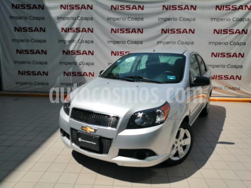 Chevrolet Aveo Paq C usado (2014) color Plata precio $115,000