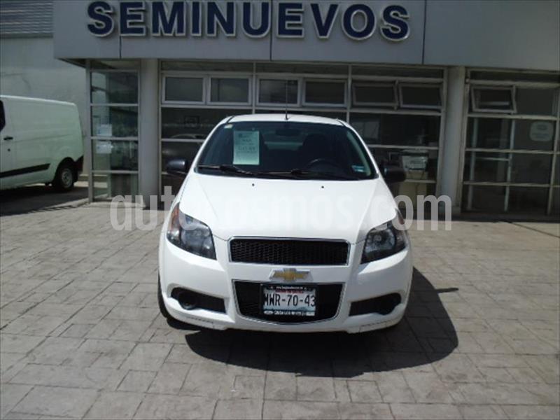 Chevrolet Aveo LT usado (2016) color Blanco precio $115,000